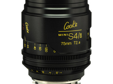 Rent: 75mm Cooke Mini S4/i T2.8 (87mm-D)