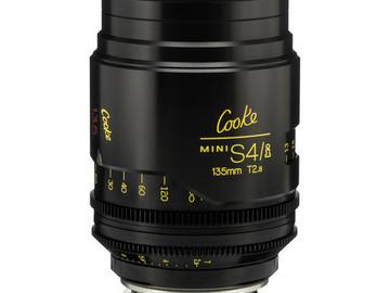 Rent: 135mm Cooke Mini S4/i T2 (87mm-D)