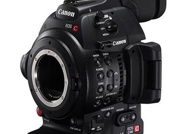 Rent: Canon C100 Mark I w extra battery