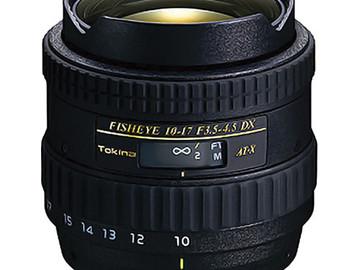 Rent: Fisheye 10-17mm F3.5-4.5 DX ATX