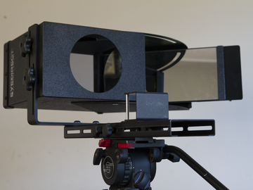 EyeDirect Mark II with iPad // Teleprompter and Interrotron!