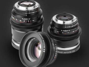 Rent: Zeiss Classic 6 Lens ZE Canon EF Duclos Cine-Mod Set