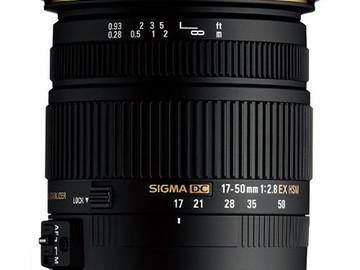 Rent: Sigma DC 17-50mm F2.8 EX