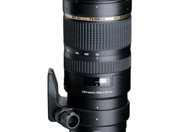 Rent: Tamron 70-200mm 2.8 Nikon Mount