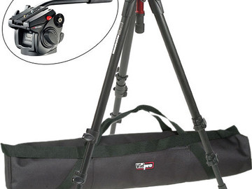 Rent: Manfrotto 745XB, 501hdv
