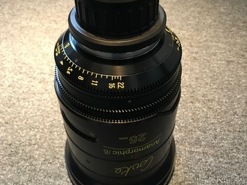 Rent: Cooke Anamorphic 25mm Lens
