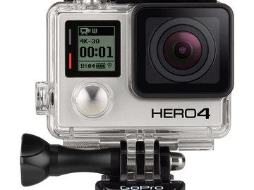 Rent: GoPro HERO4 Black Package