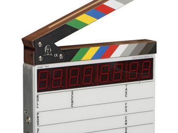 Rent: Denecke TS-C Compact Time Code Slate (EL Backlit)