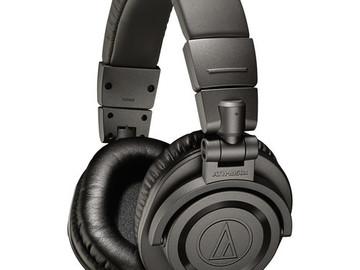 Rent: Audio-Technica ATH-M50x Monitor Headphones (Matte Gray)
