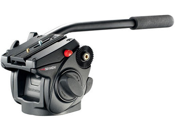 Rent: Manfrotto 501HDV Video Head and Tripod