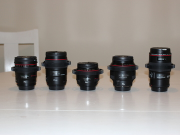 Rent: Canon L-series 24, 35, 50, 85, 100 ( CHOOSE ONE )