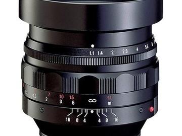 Rent: Voigtlander Nokton 50mm f/1.1 Lens