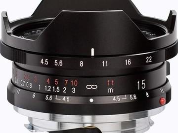 Rent: Voigtlander Super Wide-Heliar 15mm f/4.5 Aspherical II Lens