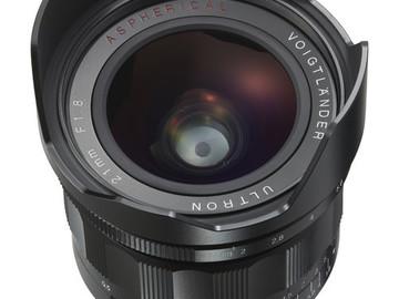 Rent: Voigtlander Ultron 21mm f/1.8 Lens