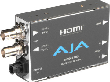 Rent: AJA HA5 HDMI to SD/HD-SDI Video and Audio Converter