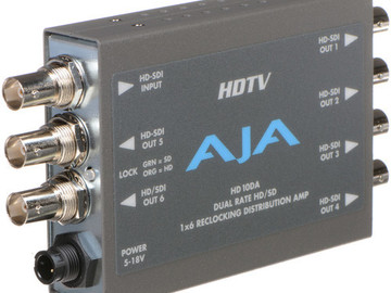 Rent: AJA AJA HD10DA 1x6 HD/SD-SDI