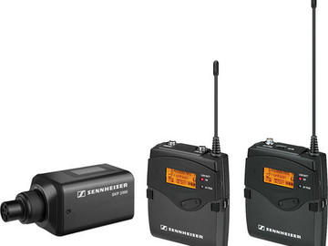 Rent: Sennheiser 2000ENG Portable Wireless Combo System