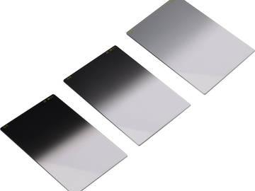 Rent: Tiffen 4x5.65-in Neutral Density Filter Set : 3, 6, 9