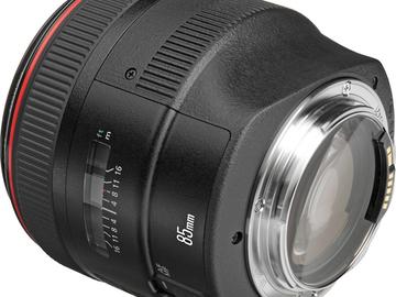 Rent: Canon f/1/2L 85mm USM