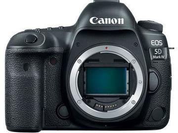 Rent: Canon EOS 5D Mark IV - Body Only w/ Battery