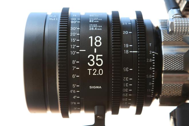 Sigma 18-35mm T2 Cine - PL Mount