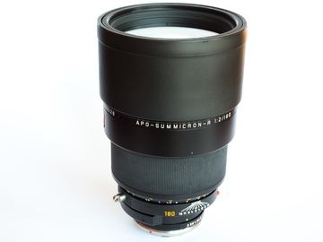 Rent: Leica APO-Summicron-R 180/2.0 (adapted to Canon EF mount)