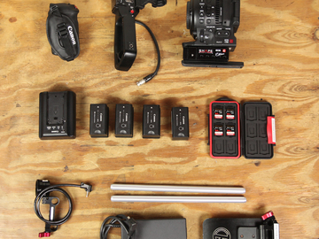 Rent: Canon C100 Mark II Package w/ Shoulder Rig Kit