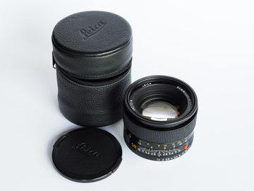 Rent: Leica R 50/1.4 (with adapter for EF or Sony E mount)