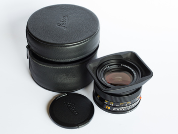 Rent: Leica Elmarit-R 28/2.8 (with adapter to Canon EF or Sony E)