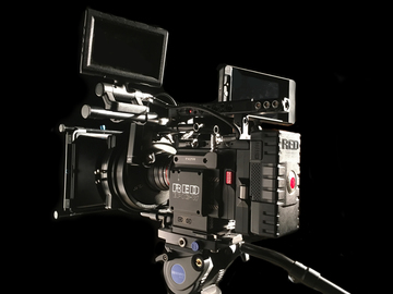 RED Epic-W Helium 8K  W/ DJI Follow Focus and Small HD 702