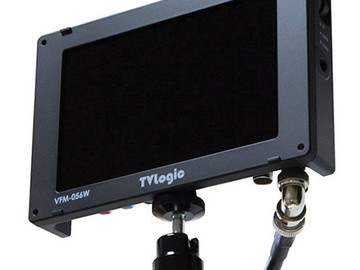 """Rent: TV Logic 5.6"""" Onboard monitor and accessories"""