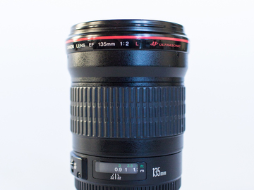 Rent: Canon 135mm f/2L USM Lens