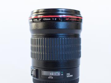 Rent: Canon 135mm f/2L USM Lens