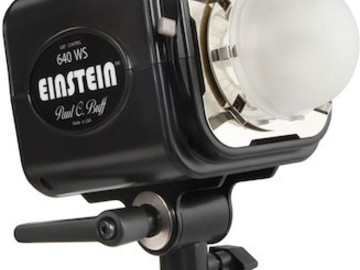 Rent: Einstein Head w/ Reflector and Power Cord
