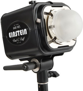 Einstein Head w/ Reflector and Power Cord
