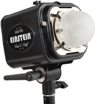 Einstein Head w/ Reflector and Power Cord