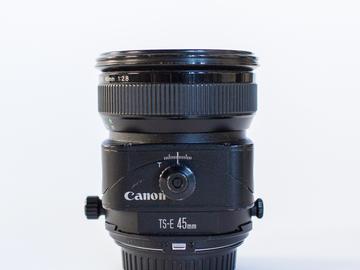 Rent: Canon TS-E 45mm f/2.8 Tilt-Shift Lens