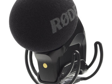 Rent: Rode Stereo VideoMic Pro On-Camera Microphone