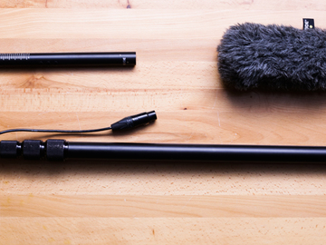Rent: Rode Shotgun NTG4+  Microphone with K-Tec KE89CC Boompole