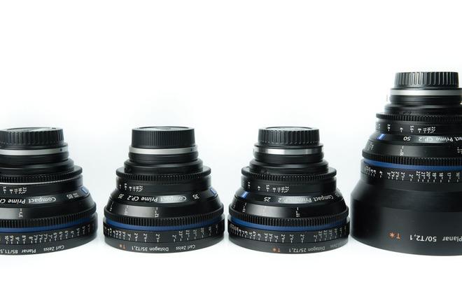 Zeiss CP.2 Compact Primes - 4 Len Kit