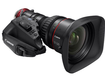 Rent: Canon 17-120 F2.8 Cine Servo Lens EF or PL mount