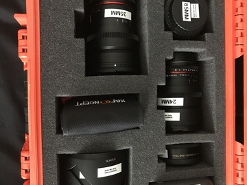 Rent: Rokinon Cine Lens Set T1.5 EF with Metabones XL for GH4/GH5