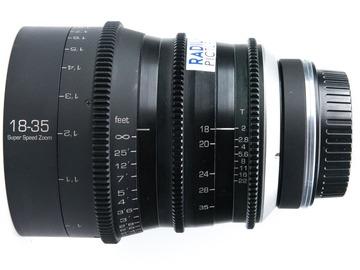 Rent: GL Optics 18-35 T2 Cinema Lens (Sigma 18-35) EF or PL