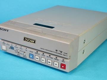 Rent: Sony DSR-11 Compact DVCAM / DV / MiniDV VTR Deck