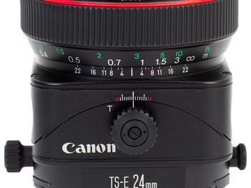 Rent: Canon L 24mm V2 Tilt shift lens (x3 available)