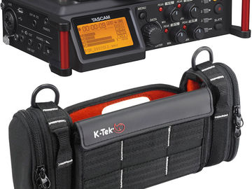 Rent: Tascam DR-70D 4-Channel Mixer + Bag + 32GB SD Card