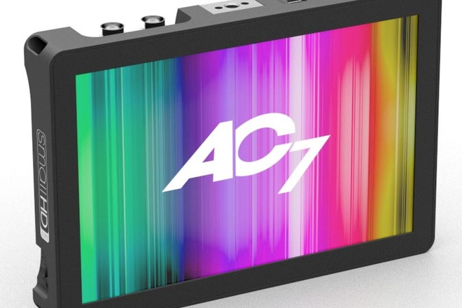 SMALLHD AC7 HDMI monitor