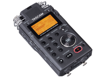 Rent: Tascam DR-100mkII - Portable 2-Channel Linear PCM Recorder