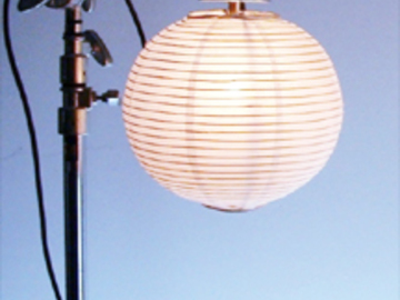 "Rent: Lantern Lock 12"" China Ball (Metal Frame)"