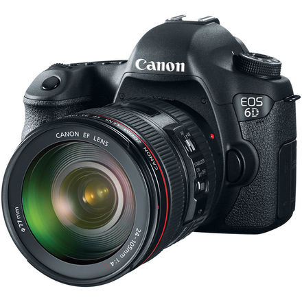 Canon EOS 6D Camera and 24-105mm Kit